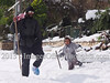 Massive overnight snowfall brought by snowstorm Alexa brings Jerusalem to a halt. Fallen trees block roads, hundreds of stranded drivers rescued overnight and tens of thousands remain without electricity. Public transportation is non-existent.