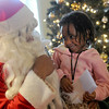 Family Learning Center Visits Santa's House
