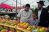 "Religious Jews inspect and purchase ""the four species"",  as ordered in Leviticus 23:40, just before the Sukkot holiday. Jeruaslem, Israel. 11/10/2011."