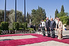Shimon Peres hosts official state welcome for Serbian Tomislav Nicolic