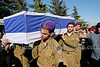 Israel Gaza Conflict - Liel Gidoni Brought to Rest