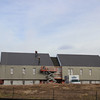 Siding and rooking goes into place on the Eagle Ridge housing units. Students can begin to sign contracts for Eagle Ridge housing March 17.