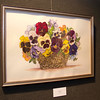 Watercolors of flowers comprise the majority of the exhibit by Myra Omelanuk, 90, in the Chadron State College Memorial Hall Gallery 239 through Feb. 5.