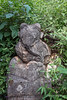 Ganesha statue (Elephant God), overgrown by the jungle, Inn Thein, Inle Lake, Myanmar