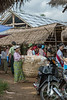 Woman carrying a huge basket of poori, Inle Market, Myanmar (best larger)