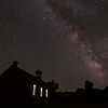 Milky Way over Grafton Ghost Town