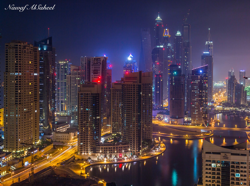 Dubai Address @ Night