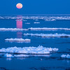 MNWN-13-92: Lake Superior ice and full moon