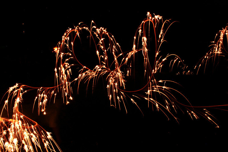 4th of July Sparkler fun