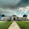 Griffith Observatory Struck by Lightning! Nikon D800E HDR Photos: Final Cut HDR Malibu Landscapes for Los Angeles Gallery Show