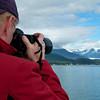 Photographing Matanuska Glacier