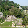 Mayan Ruins at Palenque, Temple of the Cross - Chiapas, Mexico