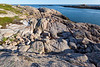 Granite lined shores of Maine