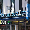 New York Police Department in Times Square