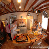 Thanksgiving Kitchen, Fisheye - Scranton, Pennsylvania