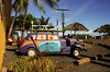 Vintage car at Surf N Sea <br><br>Hale'iwa, North Shore of O'ahu, Hawai'i 2004