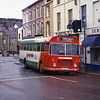 Crosville Wales ERG276 Bridge St Caernarfon Mar 87
