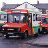 Crosville Wales MSL106 Caernarfon Bus Station Mar 87