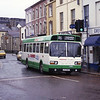 Crosville Wales SNG585 Bridge St Caernarfon Mar 87