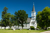 The Vikur Lutheran Church in Mountain, North Dakota, USA.