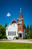 The Lutheran Church at Gardar, North Dakota, USA.