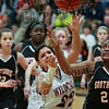 Wildcats Girls vs South Davie 1-27-14-136