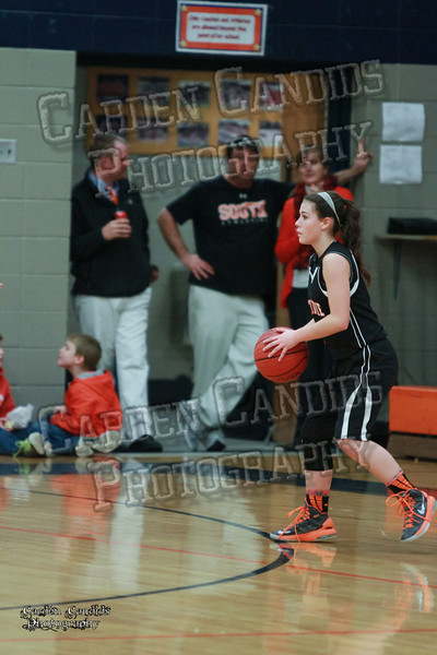 Wildcats Girls vs South Davie 1-27-14-157