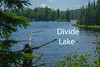 Divide Lake.  East of Isabella on Superior National Forest Road 172.