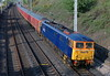 87022, 1M44, Hest Bank, Wed 10 May 2006 - 1746.  NB the train comprises three class 325s running without their motor cars.