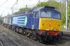 57007 & 57011, 0Z57, Lancaster, Fri 24 May 2013 - 1648.  A Crewe - Motherwell move with recently repainted 57011 bringing up the rear.