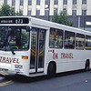 O K Motor Services Bishop Auckland L417KEF Eldon Bus Centre Newcastle Jul 94