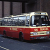 O K Motor Services Bishop Auckland NWO450R Eldon Bus Centre Newcastle Jul 94