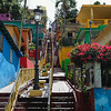 Colorful Houses on the Hillside, Gurabo, Puerto Rico