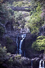 Beautiful waterfalls at the Seven Sacred Pools, also called the Pools of Oheao, Piilani Highway, the backside, south east Maui