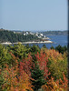 Bay Point, Arrrowsic Maine as seen from Cox' Head, Phippsburg  Maine in October