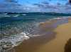 Beautifully peaceful beach ~ Kawela Bay  North Shore Oahu, Hawaii 030803