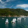 Sailing in Queen Charlotte Sound - Marlborough, New Zealand