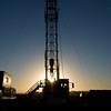 Oil drilling operations in the Texas Panhandle.