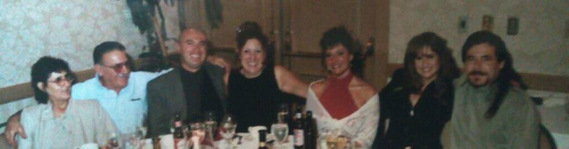 At Jeff and Vickey's wedding Oct. 2000