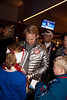 Andrew Weibrecht<br /> 2014 Olympic Winter Games - Sochi, Russia.<br /> Bode Miller and Andrew Weibrecht at USA House after medaling in Super G<br /> Photo: Sarah Brunson/U.S. Ski Team
