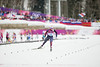Kikkan Randall<br /> 2014 Olympic Winter Games - Sochi, Russia.<br /> Women's skate sprint<br /> Photo: Sarah Brunson/U.S. Ski Team