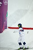 Heather McPhie<br /> 2014 Olympic Winter Games - Sochi, Russia.<br /> Women's Moguls<br /> Photo: Sarah Brunson/U.S. Ski Team