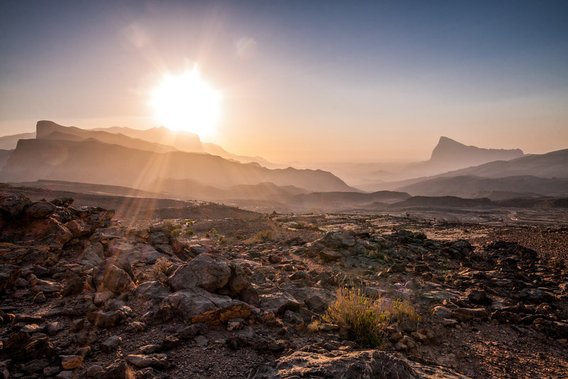 The Barren Landscape of Oman