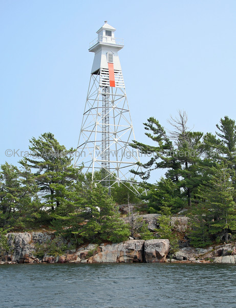 Pointe au Baril Rear Range Lighthouse
