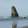 Smaller monoliths near Haystack Rock, Cannon Beach, Oregon
