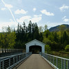 Lowell Covered Bridge, 1945 Oregon