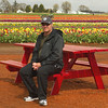 Shaun at Woodburn Tulip Farm, Oregon