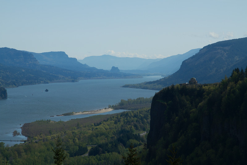 Crown Point and Vista House - Columbia River Gorge