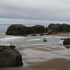 Oregon coast - Elephant Rock, North Coquille Point rock & Middle Coquille Point rock, Bandon