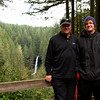 Shaun and Hayden at Silver Falls, Oregon